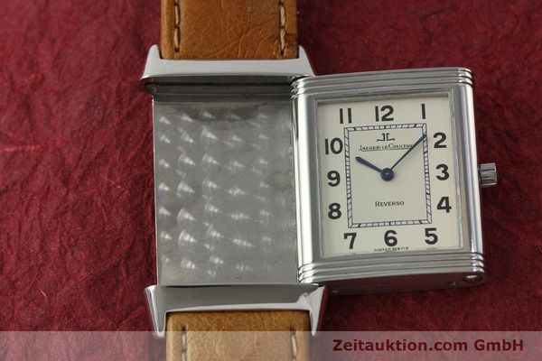 Used luxury watch Jaeger Le Coultre Reverso steel manual winding Kal. 846 Ref. 250.8.86  | 151739 14