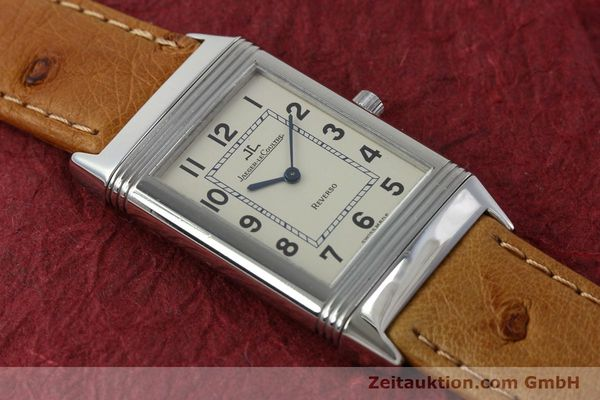Used luxury watch Jaeger Le Coultre Reverso steel manual winding Kal. 846 Ref. 250.8.86  | 151739 15