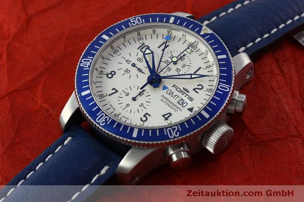 Used luxury watch Fortis B42 chronograph steel automatic Kal. ETA 7750 Ref. 643.10.172  | 151740 01