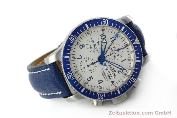 Used luxury watch Fortis B42 chronograph steel automatic Kal. ETA 7750 Ref. 643.10.172  | 151740 03