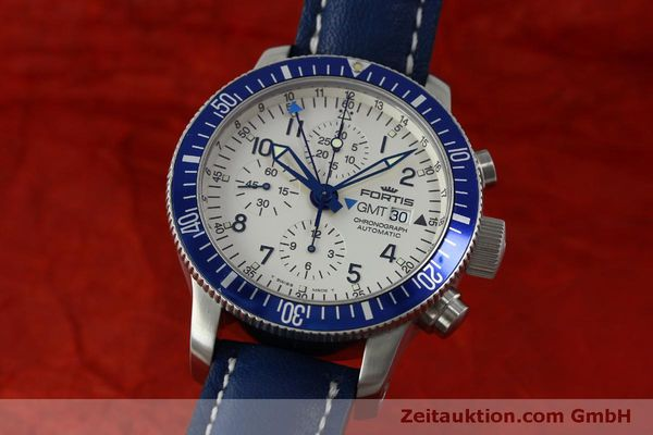 Used luxury watch Fortis B42 chronograph steel automatic Kal. ETA 7750 Ref. 643.10.172  | 151740 04