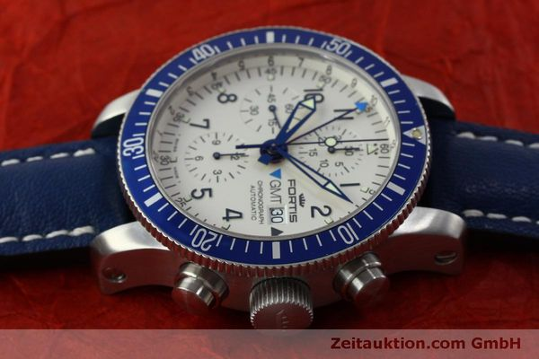 Used luxury watch Fortis B42 chronograph steel automatic Kal. ETA 7750 Ref. 643.10.172  | 151740 05