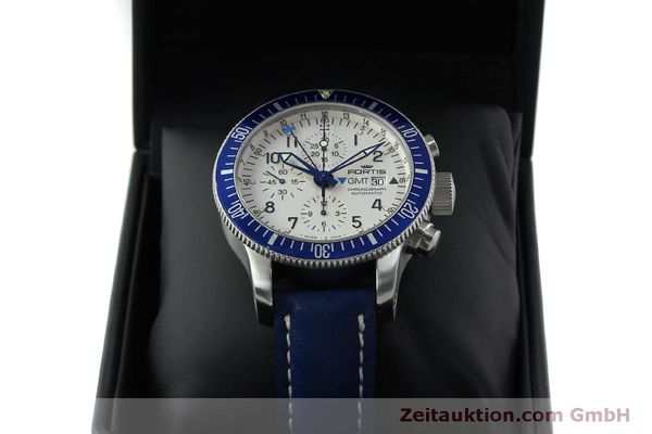 Used luxury watch Fortis B42 chronograph steel automatic Kal. ETA 7750 Ref. 643.10.172  | 151740 07