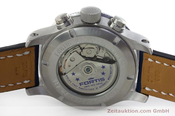 Used luxury watch Fortis B42 chronograph steel automatic Kal. ETA 7750 Ref. 643.10.172  | 151740 09
