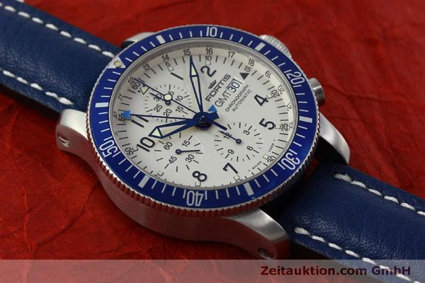 Used luxury watch Fortis B42 chronograph steel automatic Kal. ETA 7750 Ref. 643.10.172  | 151740 13