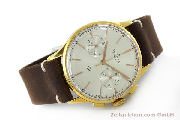 Used luxury watch Breitling Top Time chronograph gold-plated manual winding Kal. Venus 188 Ref. 1781 VINTAGE  | 151742 03