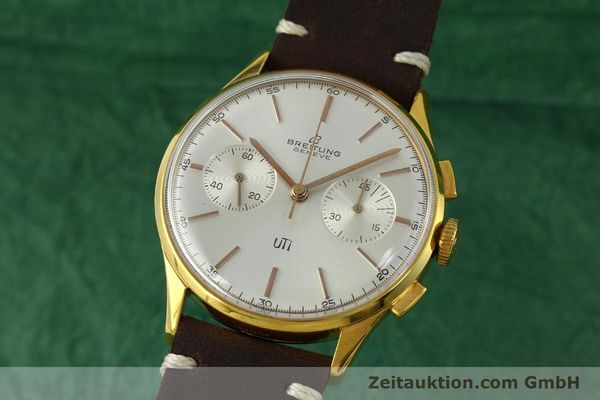 Used luxury watch Breitling Top Time chronograph gold-plated manual winding Kal. Venus 188 Ref. 1781 VINTAGE  | 151742 04