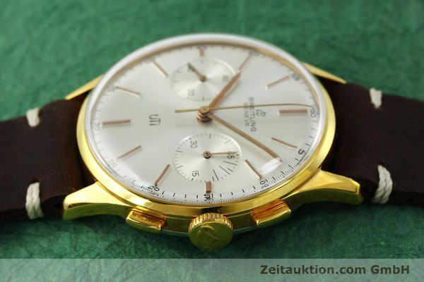 Used luxury watch Breitling Top Time chronograph gold-plated manual winding Kal. Venus 188 Ref. 1781 VINTAGE  | 151742 05