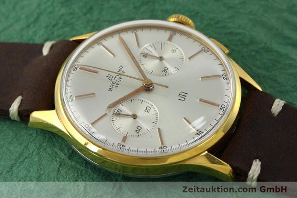 Used luxury watch Breitling Top Time chronograph gold-plated manual winding Kal. Venus 188 Ref. 1781 VINTAGE  | 151742 12