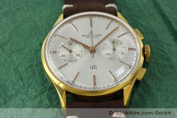 Used luxury watch Breitling Top Time chronograph gold-plated manual winding Kal. Venus 188 Ref. 1781 VINTAGE  | 151742 13