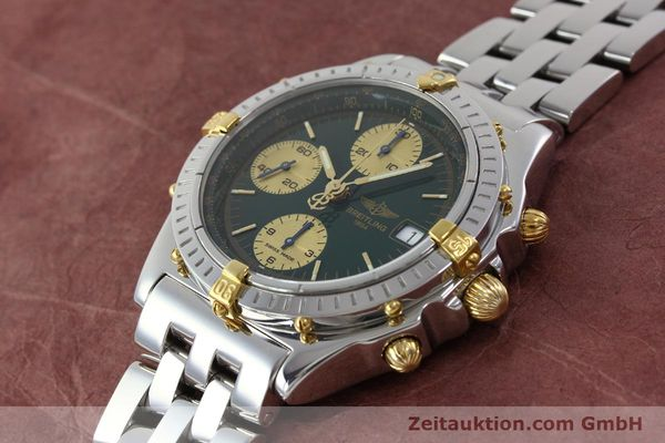 Used luxury watch Breitling Chronomat chronograph steel / gold automatic Kal. B13 ETA 7750 Ref. B13050.1  | 151746 01