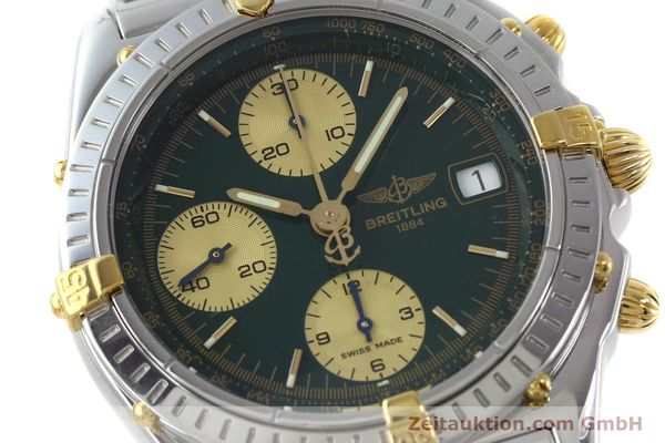 Used luxury watch Breitling Chronomat chronograph steel / gold automatic Kal. B13 ETA 7750 Ref. B13050.1  | 151746 02