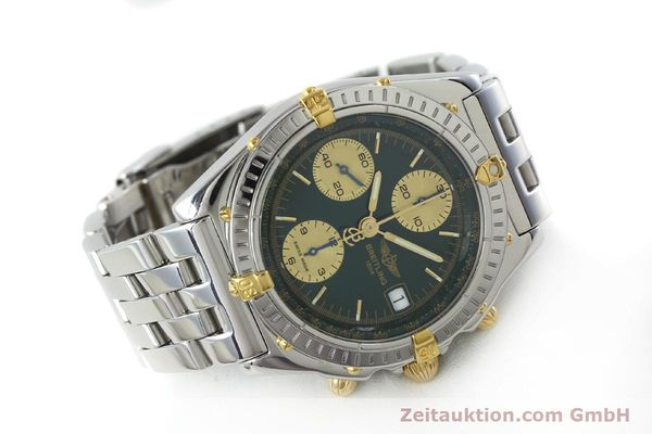 Used luxury watch Breitling Chronomat chronograph steel / gold automatic Kal. B13 ETA 7750 Ref. B13050.1  | 151746 03