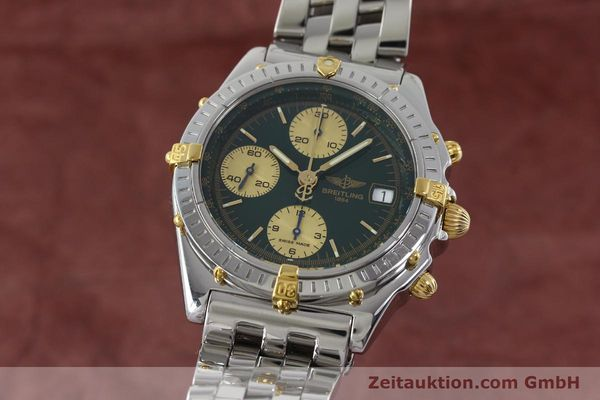 Used luxury watch Breitling Chronomat chronograph steel / gold automatic Kal. B13 ETA 7750 Ref. B13050.1  | 151746 04