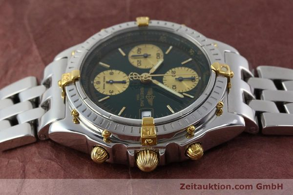 Used luxury watch Breitling Chronomat chronograph steel / gold automatic Kal. B13 ETA 7750 Ref. B13050.1  | 151746 05