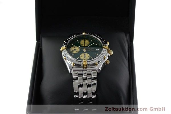 Used luxury watch Breitling Chronomat chronograph steel / gold automatic Kal. B13 ETA 7750 Ref. B13050.1  | 151746 07