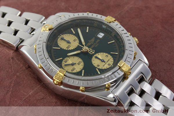 Used luxury watch Breitling Chronomat chronograph steel / gold automatic Kal. B13 ETA 7750 Ref. B13050.1  | 151746 16