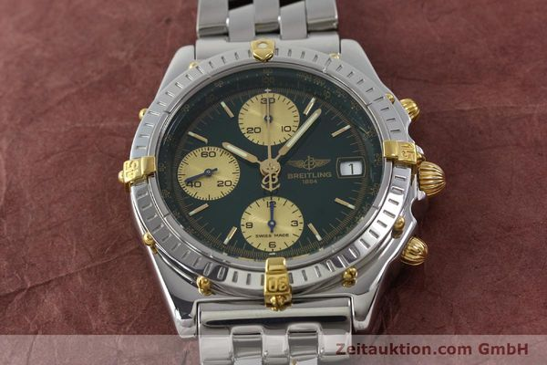 Used luxury watch Breitling Chronomat chronograph steel / gold automatic Kal. B13 ETA 7750 Ref. B13050.1  | 151746 17