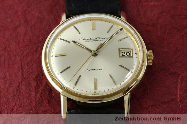 Used luxury watch IWC Portofino 18 ct gold automatic Kal. 8541 Ref. 807A  | 151749 15
