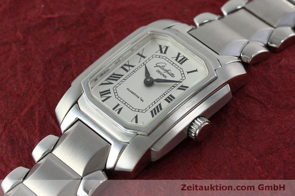 Used luxury watch Glashütte * steel manual winding Kal. GUB 21  | 151750 01