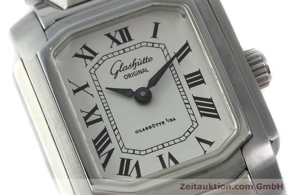 Used luxury watch Glashütte * steel manual winding Kal. GUB 21  | 151750 02