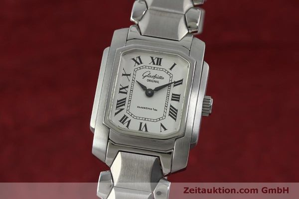Used luxury watch Glashütte * steel manual winding Kal. GUB 21  | 151750 04