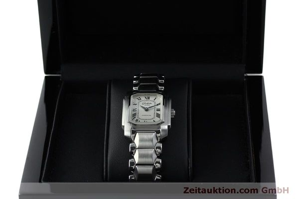 Used luxury watch Glashütte * steel manual winding Kal. GUB 21  | 151750 07