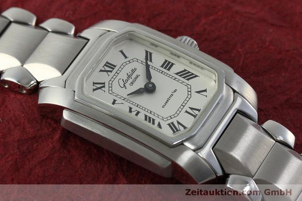 Used luxury watch Glashütte * steel manual winding Kal. GUB 21  | 151750 13