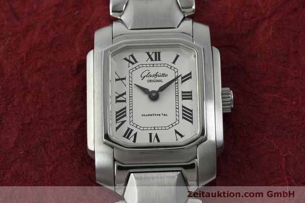 Used luxury watch Glashütte * steel manual winding Kal. GUB 21  | 151750 14