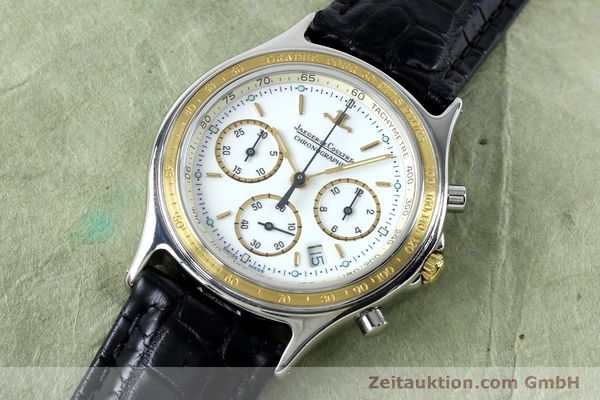 Used luxury watch Jaeger Le Coultre Heraion chronograph steel / gold quartz Kal. 630 Ref. 115.5.31  | 151757 01
