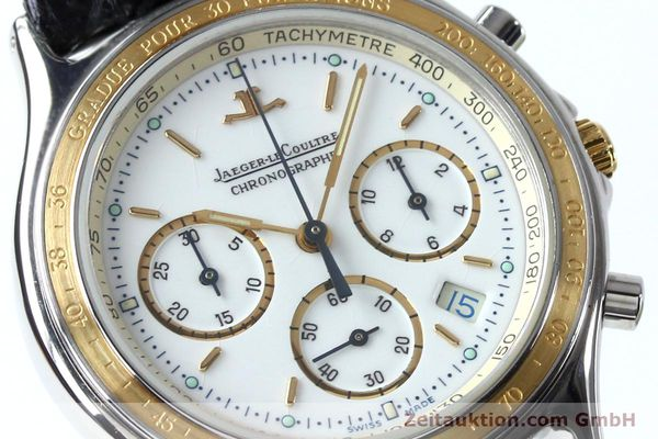 Used luxury watch Jaeger Le Coultre Heraion chronograph steel / gold quartz Kal. 630 Ref. 115.5.31  | 151757 02