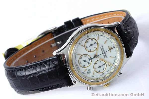 Used luxury watch Jaeger Le Coultre Heraion chronograph steel / gold quartz Kal. 630 Ref. 115.5.31  | 151757 03