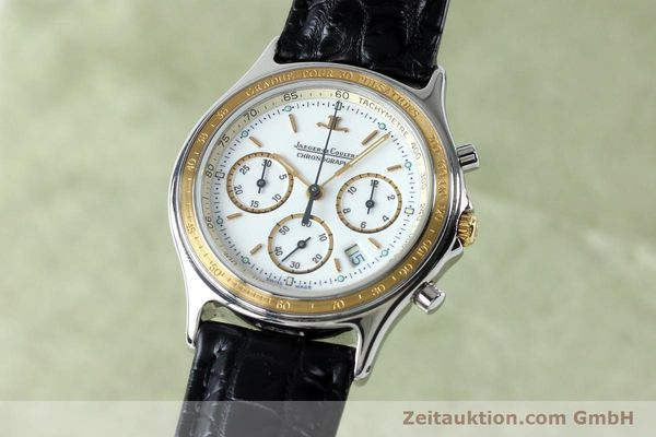 Used luxury watch Jaeger Le Coultre Heraion chronograph steel / gold quartz Kal. 630 Ref. 115.5.31  | 151757 04