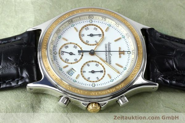 Used luxury watch Jaeger Le Coultre Heraion chronograph steel / gold quartz Kal. 630 Ref. 115.5.31  | 151757 05