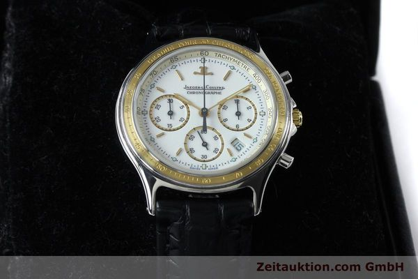 Used luxury watch Jaeger Le Coultre Heraion chronograph steel / gold quartz Kal. 630 Ref. 115.5.31  | 151757 07