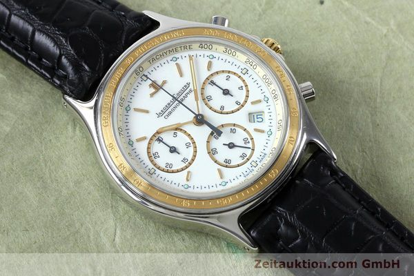 Used luxury watch Jaeger Le Coultre Heraion chronograph steel / gold quartz Kal. 630 Ref. 115.5.31  | 151757 12