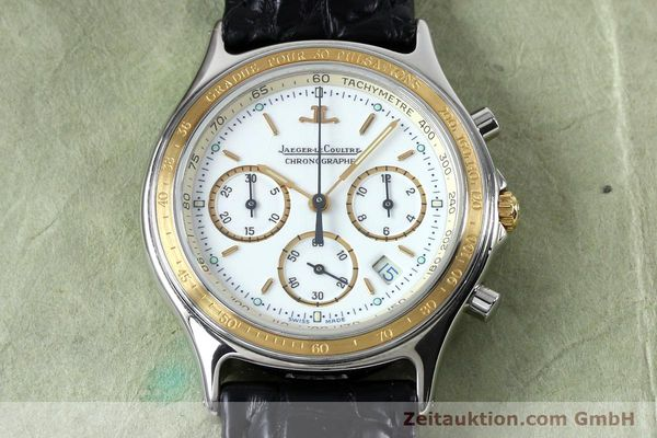 Used luxury watch Jaeger Le Coultre Heraion chronograph steel / gold quartz Kal. 630 Ref. 115.5.31  | 151757 13