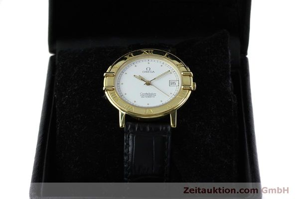 Used luxury watch Omega Constellation 18 ct gold automatic Kal. 1111  | 151761 07