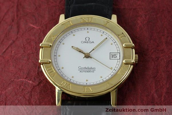 Used luxury watch Omega Constellation 18 ct gold automatic Kal. 1111  | 151761 14