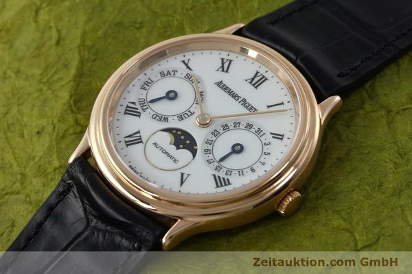montre de luxe d occasion Audemars Piguet Day-Date Moonphase or rouge 18 ct automatique Kal. 2124  | 151764 01