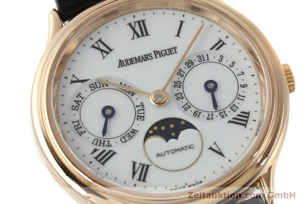 montre de luxe d occasion Audemars Piguet Day-Date Moonphase or rouge 18 ct automatique Kal. 2124  | 151764 02