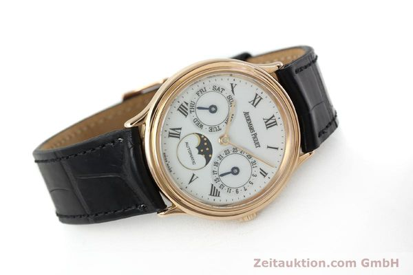 montre de luxe d occasion Audemars Piguet Day-Date Moonphase or rouge 18 ct automatique Kal. 2124  | 151764 03