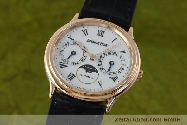 montre de luxe d occasion Audemars Piguet Day-Date Moonphase or rouge 18 ct automatique Kal. 2124  | 151764 04