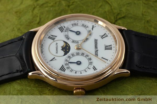 montre de luxe d occasion Audemars Piguet Day-Date Moonphase or rouge 18 ct automatique Kal. 2124  | 151764 05