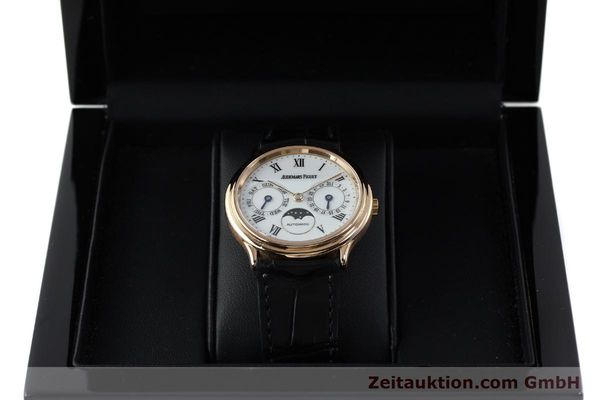 Used luxury watch Audemars Piguet Day-Date Moonphase 18 ct red gold automatic Kal. 2124  | 151764 07