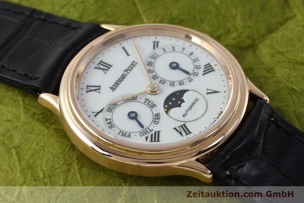 montre de luxe d occasion Audemars Piguet Day-Date Moonphase or rouge 18 ct automatique Kal. 2124  | 151764 15
