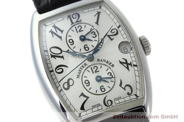 Used luxury watch Franck Muller Master Banker steel automatic Kal. 2800MB ETA 2892A2 Ref. 2852MB  | 151765 02