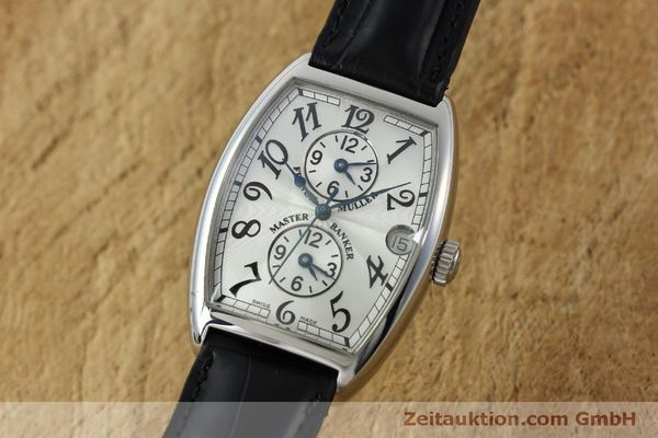 Used luxury watch Franck Muller Master Banker steel automatic Kal. 2800MB ETA 2892A2 Ref. 2852MB  | 151765 04