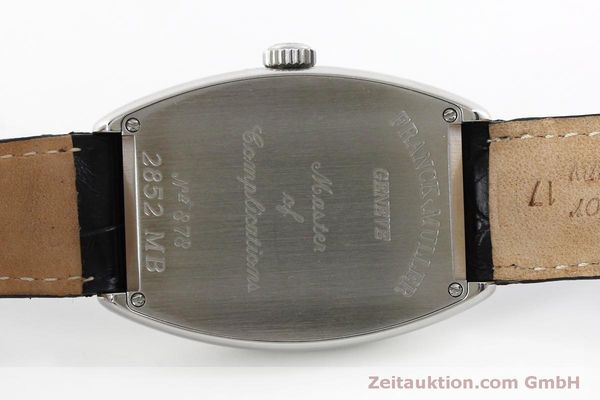 Used luxury watch Franck Muller Master Banker steel automatic Kal. 2800MB ETA 2892A2 Ref. 2852MB  | 151765 09