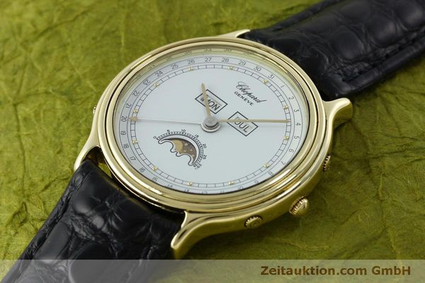 Used luxury watch Chopard Luna Doro 18 ct gold quartz Kal. 605/444 Ref. 1103  | 151767 01